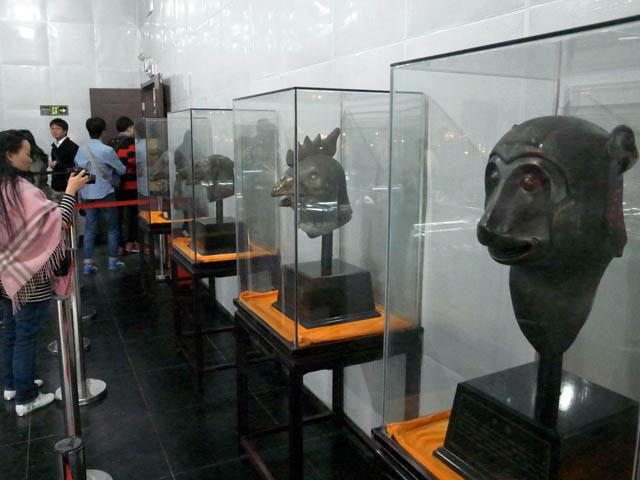 円明園十二生肖獣首銅像